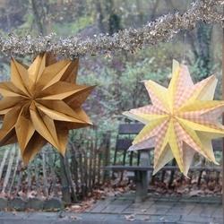 Vánoční hvězda stokrát jinak...